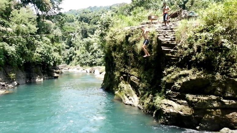 Cliff Jump Trail to Tangadan Falls_1