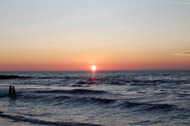 Sunset, Urbiztondo Beach, San Juan, La Union